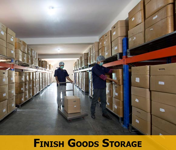 Finish Goods Storage