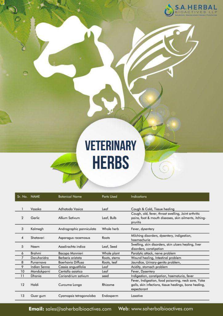 Veterinary Herbs